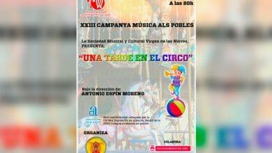 """Photo of #Aspe:  """"Una tarde en el circo"""", propuesta musical de la Sociedad Virgen de las Nieves"""