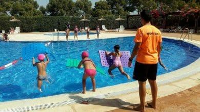 Photo of #Aspe: 250 niños y adultos han participado en los cursos de natación estivales