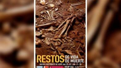 """Photo of #Aspe: El Museo Histórico inaugura la exposición """"Restos de vida. Restos de muerte"""""""