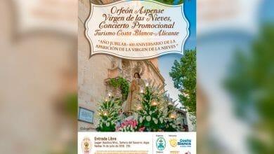 Photo of #Aspe: No te pierdas el concierto del Orfeón para promocionar las Fiestas Patronales