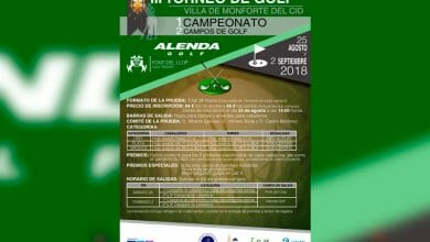 Photo of #Monforte presenta el III Torneo de Golf Villa de Monforte del Cid
