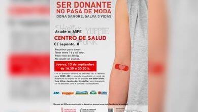 Photo of #Aspe: Este jueves, donación de sangre