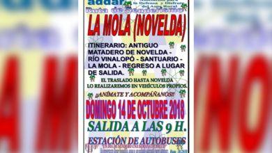 Photo of #Aspe: ADDAR visita el santuario de La Mola en Novelda