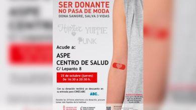 Photo of #Aspe: Descuento en las entradas de cine por donar sangre