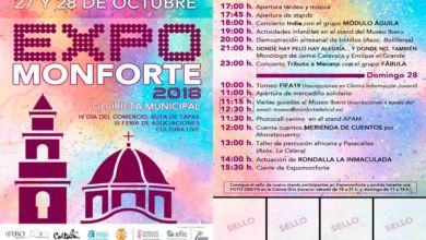 """Photo of #Monforte: 10 comercios participan en la Feria del Comercio y ruta de tapas """"Expomonforte"""""""