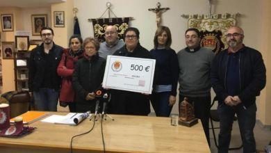 Photo of #Aspe: La Junta Mayor entrega un cheque de 500€ a MACMA