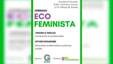 Photo of #Novelda: Jornada Ecofeminista en el Casal de la Joventut
