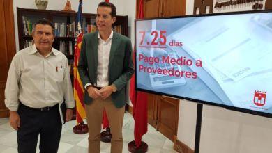 Photo of #Elda: La reducción del Pago Medio a Proveedores permitirá desbloquear 3,5 millones de euros