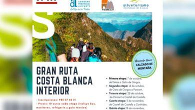 Photo of #Diputación: Un programa senderista da a conocer la Gran Ruta Costa Blanca Interior