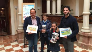 Photo of #Novelda: Premio para dos niños por representar el camino del agua hasta que llega al grifo