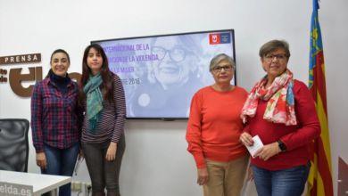 Photo of #Elda presenta las actividades para la Eliminación de la Violencia contra la Mujer