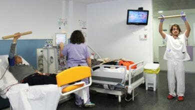 Photo of #Comarca: Pacientes del Hospital del Vinalopó realizan ejercicio durante las sesiones de hemodiálisis