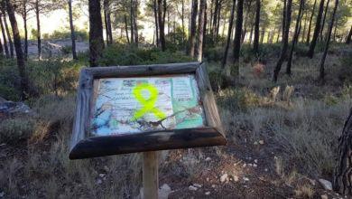 Photo of #Pretrer: Ciudadanos denuncia que sigan apareciendo pintadas en la Sierra del Cid con mensajes independentistas