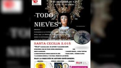 Photo of #Aspe: Actos de la Sociedad Musical y Cultural Virgen de las Nieves por Santa Cecilia