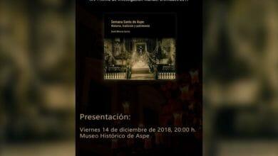 Photo of #Aspe: David Olivares y el IAC Gil Albert presentarán en diciembre un libro sobre la Semana Santa de Aspe