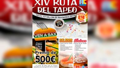 Photo of #Sax celebra XIV Ruta del Tapeo