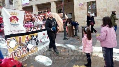 Photo of #Aspe: Jornada deportiva navideña para escolares en la Plaza Mayor