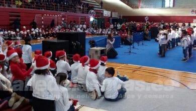 Photo of #Aspe: El Colegio Vistahermosa celebra un festival de villancicos en el Pabellón Deportivo
