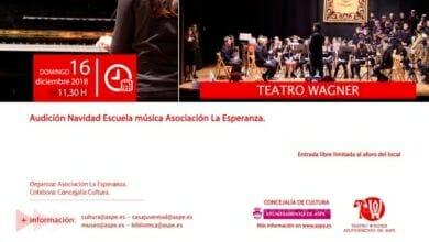 Photo of #Aspe: La Esperanza ofrece su audición de Navidad