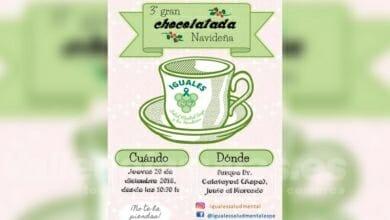 Photo of #Aspe: Chocolatada de la asociación Iguales Salud Mental
