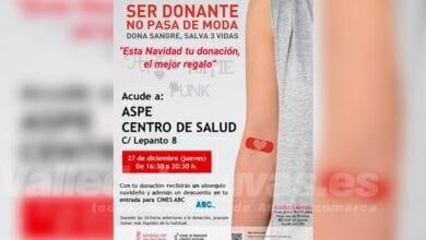 Photo of #Aspe: Última colecta de sangre 2018