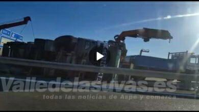 Photo of #Comarca: Corte de tráfico por un accidente en la A-31 entre Las Atalayas y el Portichol