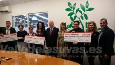 Photo of #Aspe: Grupo Soledad dona 5.100 euros a tres ONG de Aspe
