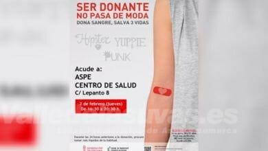Photo of #Aspe: El Centro de Salud acoge este jueves una nueva donación de sangre