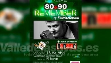 Photo of #Aspe: Fernandisco ofrece '80&90 Remember' en el Auditorio Alfredo Kraus