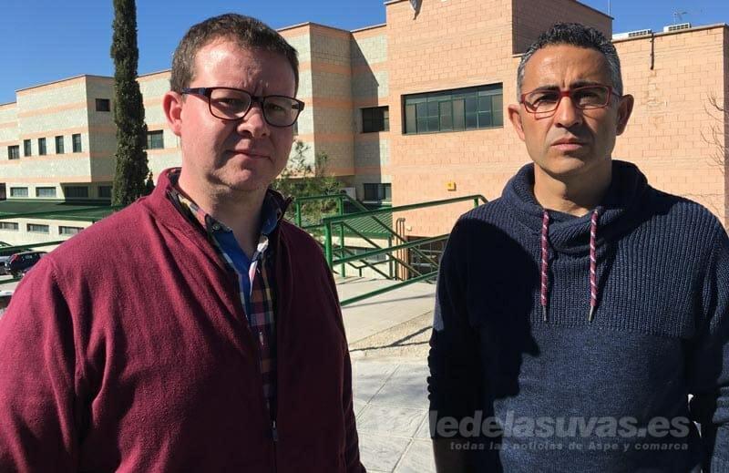 Sergio Puerto y José Ramón Botella