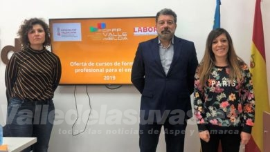 Photo of #Elda: El CIPFP Valle de Elda presenta los cursos y certificados de profesionalidad 2019