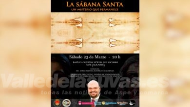 Photo of #Aspe: El misterio de la 'Sábana Santa' llega a Aspe