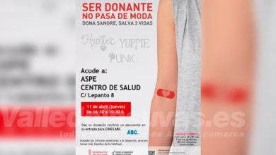 Photo of #Aspe: Donación de sangre en el Centro de Salud