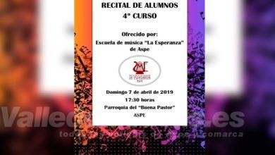 Photo of #Aspe: Recital de la Escuela de Música La Esperanza en el Buen Pastor