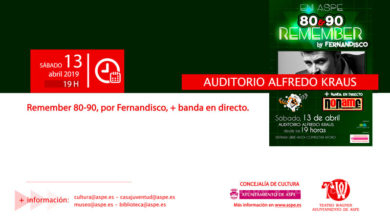 Photo of #Aspe: Fernandisco recuerda la música de los 80 y 90