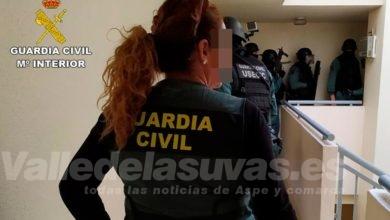 Photo of #Aspe: Detienen a cinco personas como presuntos autores de los delitos de robo con violencia e intimidación
