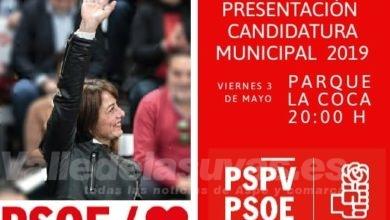 Photo of #Aspe: El PSOE presenta su candidatura en el Parque de la Coca
