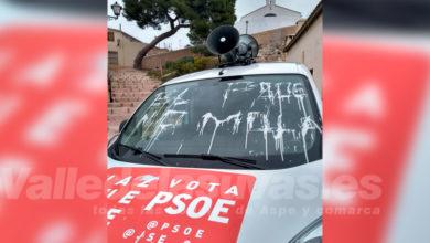 Photo of #Petrer: La furgoneta del PSOE sufre un sabotaje