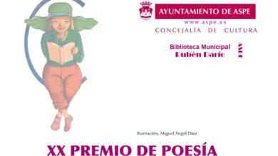 Photo of #Aspe: Cultura convoca el XX Premio de Poesía