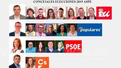 Photo of #Aspe: Un tercio de los concejales de la nueva corporación debuta en esta legislatura