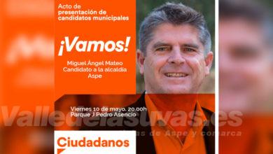 Photo of #Aspe: Ciudadanos presenta su candidatura este viernes
