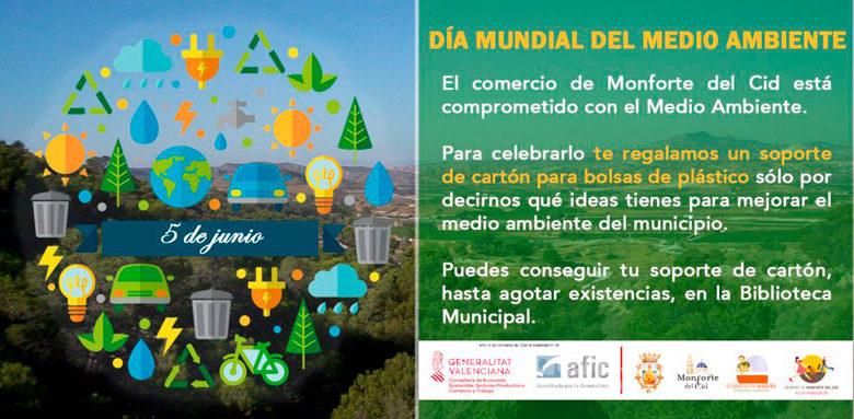 Photo of #Monforte: El comercio celebra el Día Mundial del Medio Ambiente