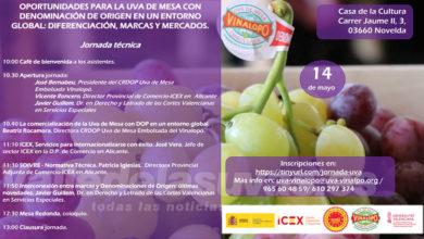 Photo of #Comarca: Organizan una jornada para mejorar la exportación de la uva de mesa