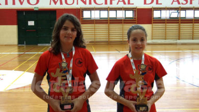 Photo of #Aspe: Nieves Galvañ y Blanca Sánchez, campeonas provinciales de bádminton
