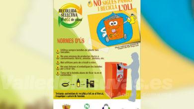 "Photo of #Novelda: ""No sigues panoli i recicla l'oli"""