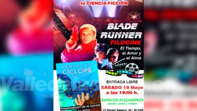 """Photo of #Comarca: Presentación de """"Proyecto Cíclope"""" y charla sobre """"Blade Runner"""" en Elche"""