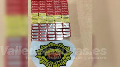 Photo of #Novelda: La Policía Local interviene 79 cajetillas con tabaco de contrabando