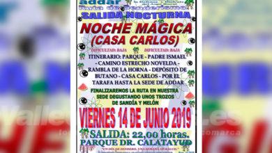 Photo of #Aspe: ADDAR organiza una noche mágica a la Casa Carlos