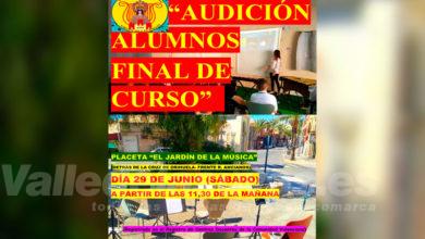 Photo of #Aspe: Audición fin de curso de la Sociedad Musical Virgen de las Nieves