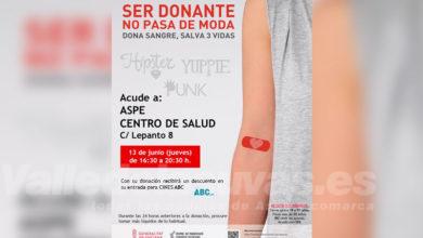 Photo of #Aspe: Jueves 13, donación de sangre